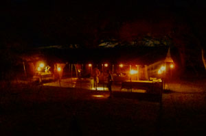 Camp by night
