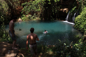 Blue Pool Makagodo Forest
