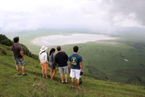 The view at Ngorongoro Crater