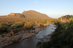 Ewaso Nyiro river in Shaba