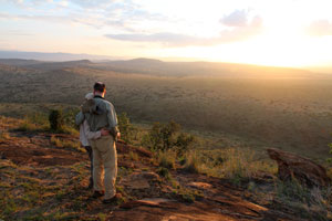 Sunset, Lewa Downs